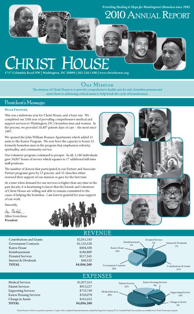 Portfolio: Brochures & Annual Reports